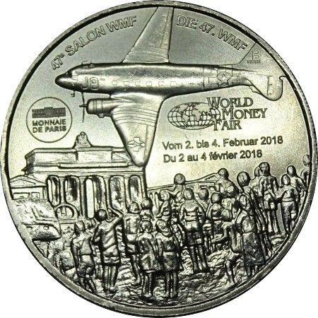 Médaille World Money fair  2018 Monnaie de Paris 4 Haguenau (67)