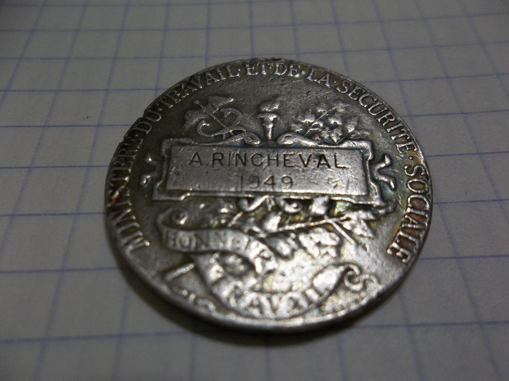 médaille 5 Haillicourt (62)
