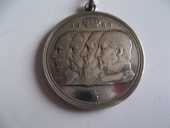 médaille  20 Haillicourt (62)