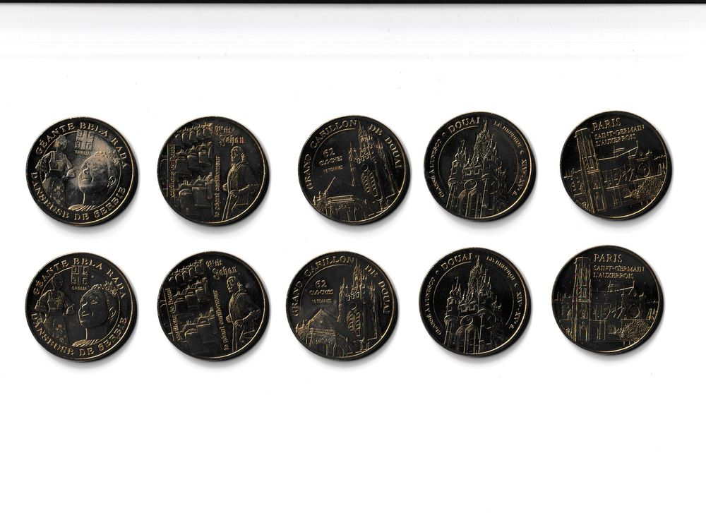 MDP Lot 10 médailles ARPAC 0 Houdemont (54)