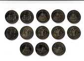 MDP Lot 13 médailles Basilique du Sacré-Coeur de Montmartre 0 Houdemont (54)