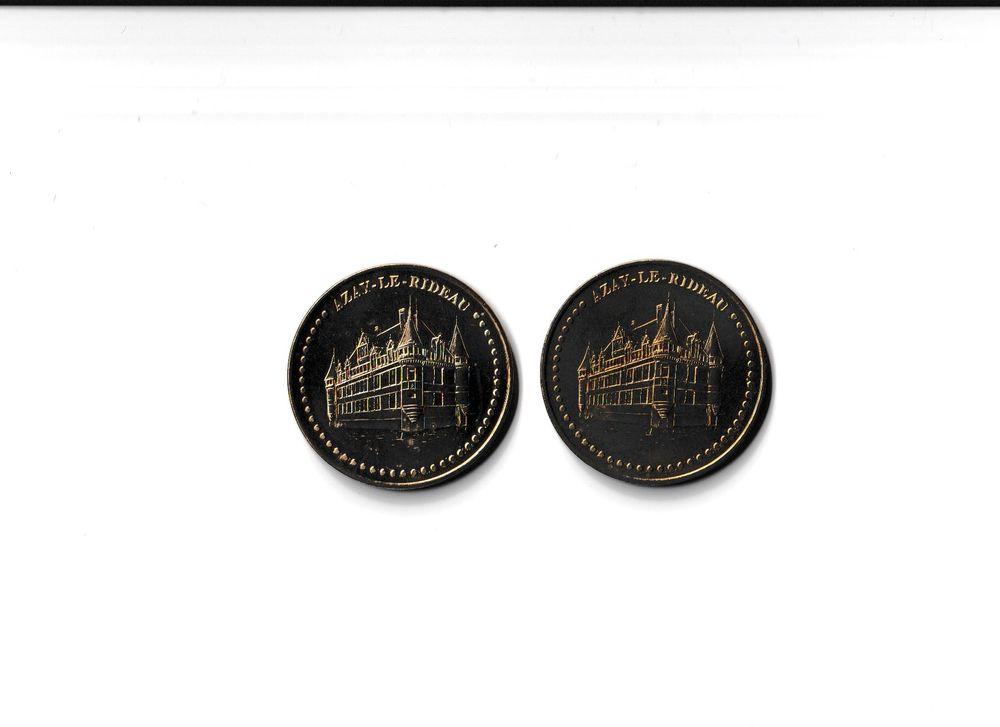 MDP Lot 2 médailles Château d'Azay-le-Rideau