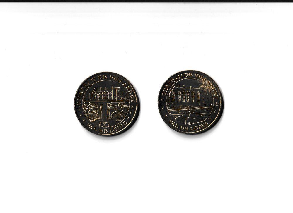 MDP Lot 2 médailles Château et Jardins de Villandry