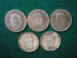 Médailles de cinq Rois de Belgique en coffret. 170 Caen (14)