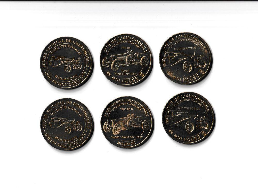 MDP Lot 6 médailles Cité de l'Automobile 0 Houdemont (54)