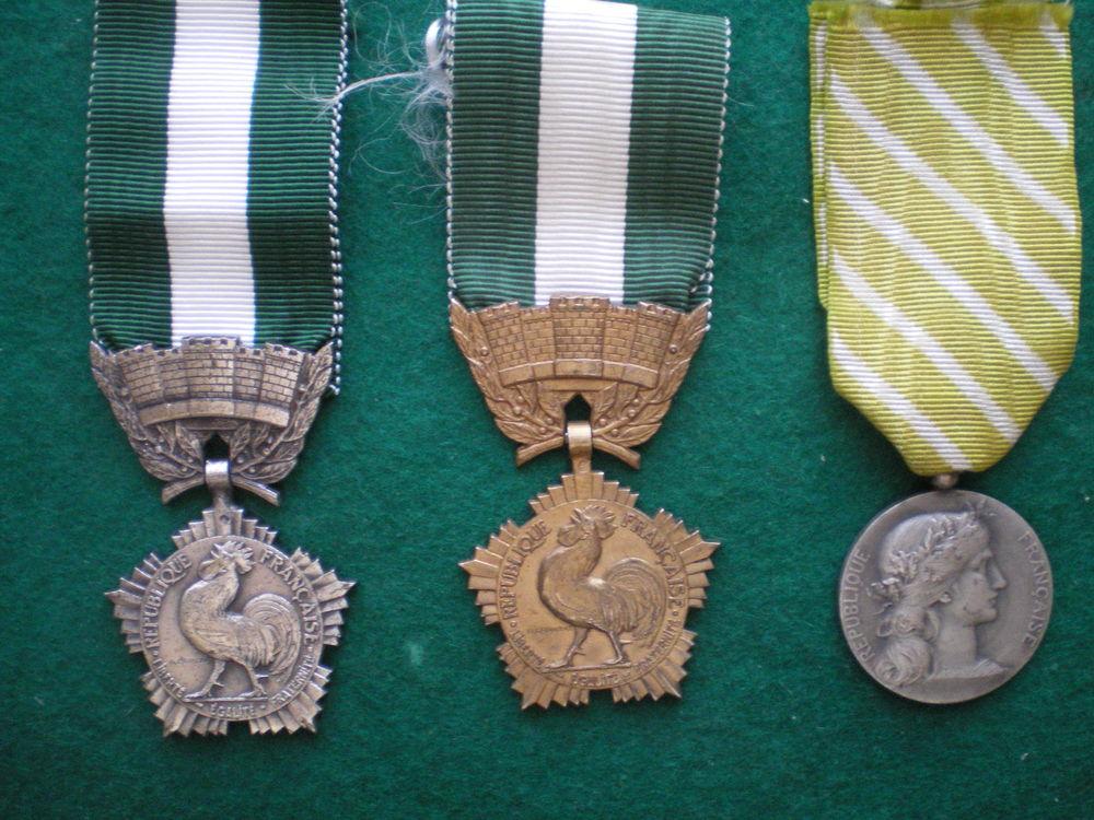 Médailles d'Honneur Départementale et Communale. 20 Caen (14)