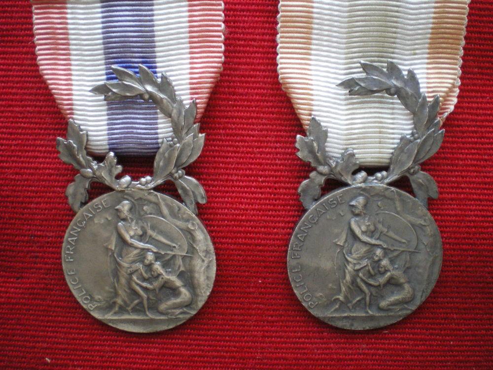 Médailles d'Honneur de la Police Française. 60 Caen (14)