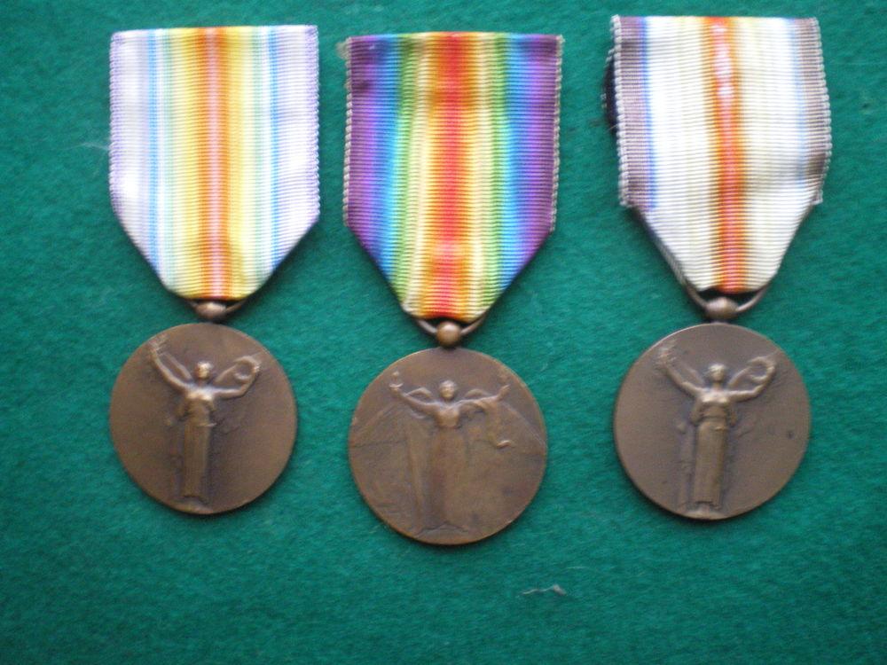 Médailles Inter-Alliée de la Victoire 1918. 40 Caen (14)