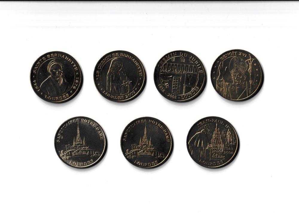 MDP Lot 7 médailles Lourdes 0 Houdemont (54)