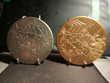 2 medailles signees sculteur MATHIEU