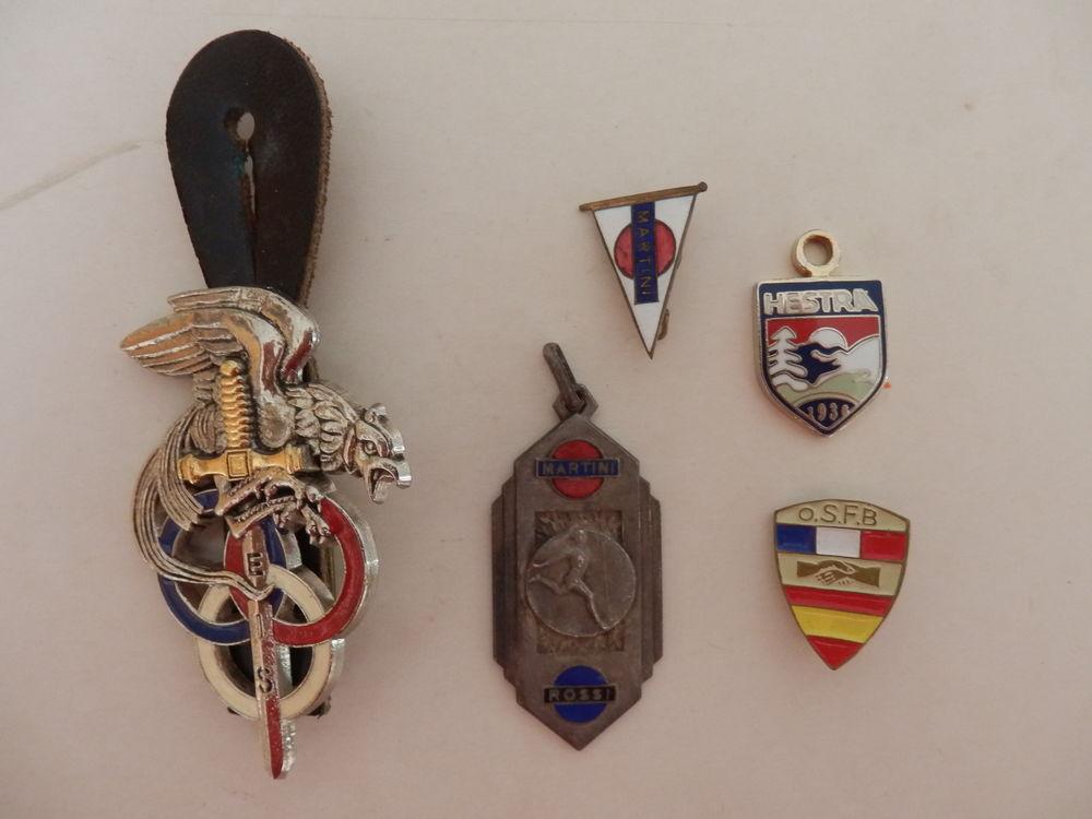 Médailles sportives - insignes 8 La Garenne-Colombes (92)
