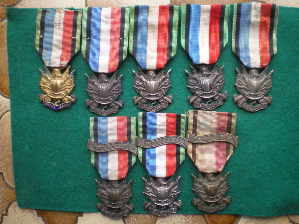 Médailles des Vétérans de 1870-1871. 50 Caen (14)