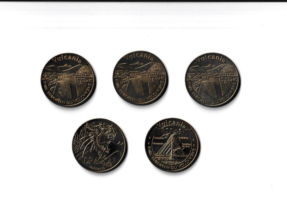 MDP Lot 5 médailles Vulcania 0 Houdemont (54)