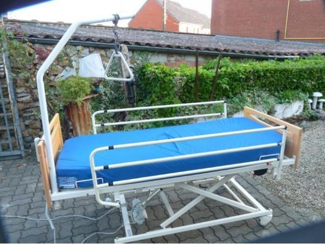 lit médical électrique relève le lit a hauteur Meubles