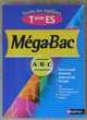 MEGABAC Terminale ES