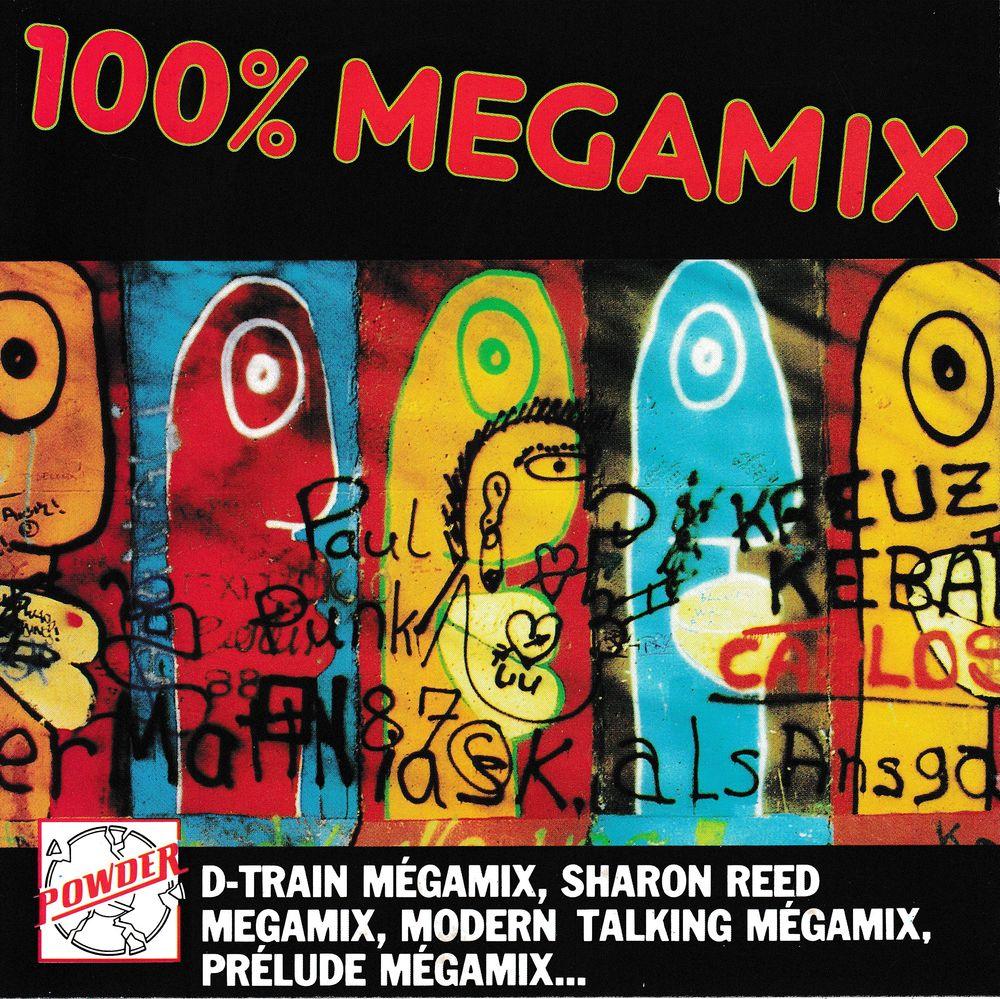 CD       100% Megamix        Compilation 10 Bagnolet (93)