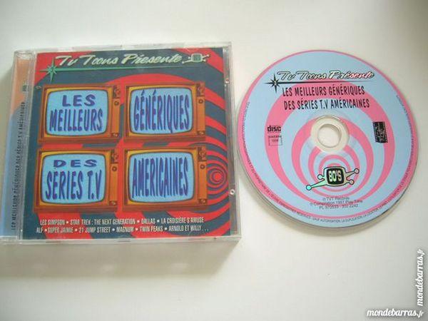 CD LES MEILLEURS GENERIQUES des SERIES TV AMERICAINES 80'S 9 Nantes (44)