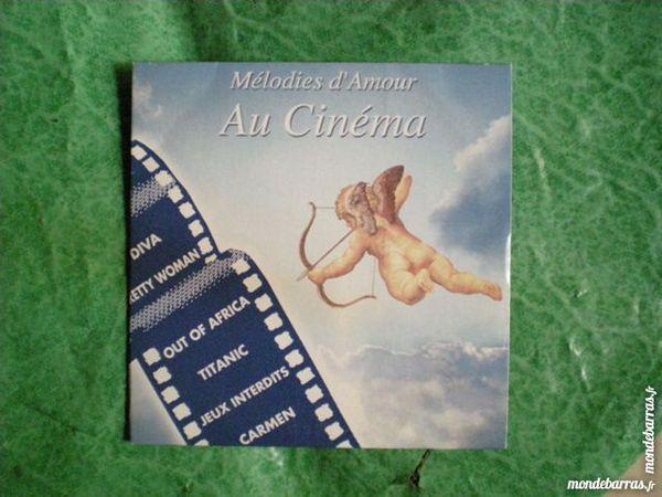 CD     Mélodie d' amour au cinéma     2 Saleilles (66)