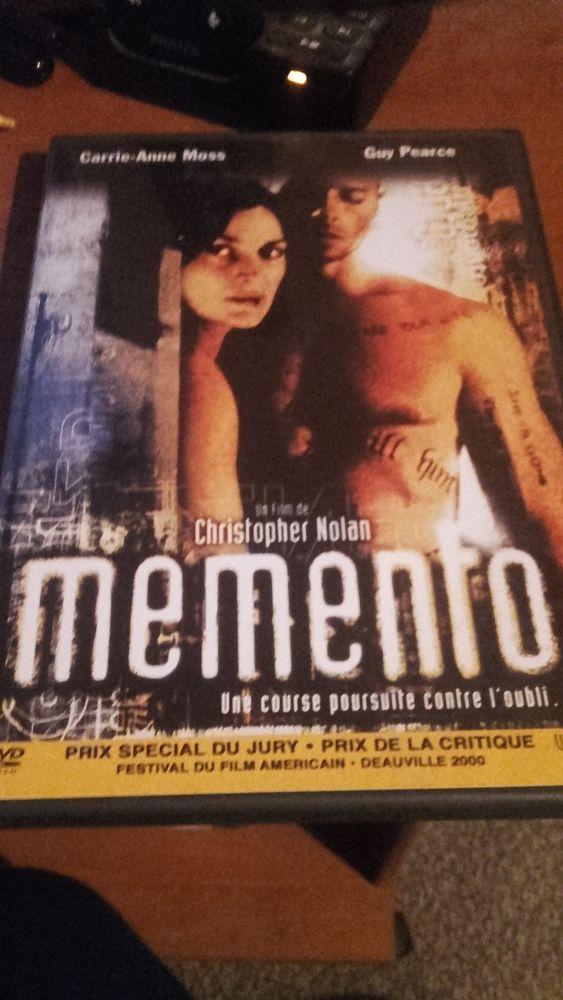DVD Memento. Livraison possible 3 Rixheim (68)