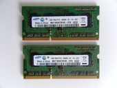 LOT 2 x MÉMOIRE RAM 1GB PC3 8500S SAMSUNG 10 La Celle-sur-Morin (77)
