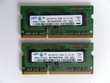 LOT 2 x MÉMOIRE RAM 1GB PC3 8500S SAMSUNG