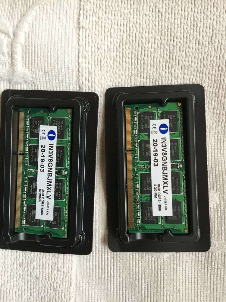 Mémoire 8 Go DDR3 1866 Mhz INTEGRAL ? X2 50 Cergy (95)