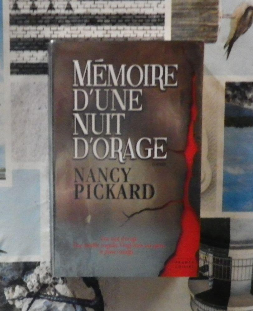 MEMOIRE D'UNE NUIT D'ORAGE de Nancy PICKARD Ed. France Loisi 4 Bubry (56)