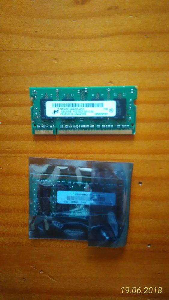 mémoire pour pc portable Matériel informatique