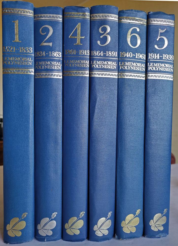 Le Mémorial polynésien 6 tomes 499 Biscarrosse (40)