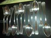 Ménagère ancienne en métal argenté 40 Boulogne-Billancourt (92)