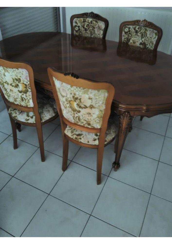 En merisier, buffet, table + 4 chaises, canapé + fauteuil 0 Châtillon (92)