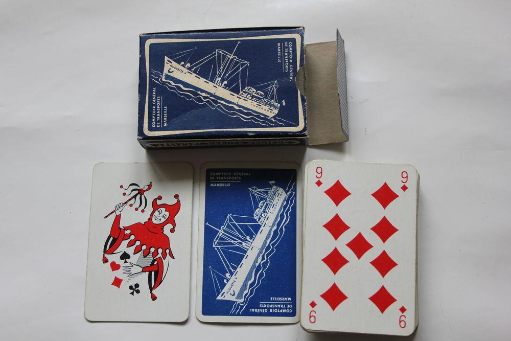 MESSAGERIES MARITIMES MARSEILLE jeu de cartes 5 Issy-les-Moulineaux (92)