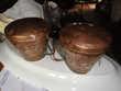 2 mesures à grains en cuivre XVIII ème