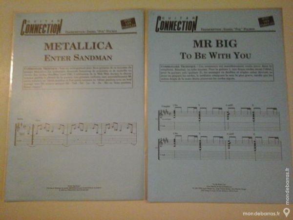 METALLICA-MR BIG PARTITIONS POUR GUITARE 5 Albi (81)
