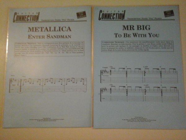METALLICA-MR BIG POUR GUITARE 5 Albi (81)