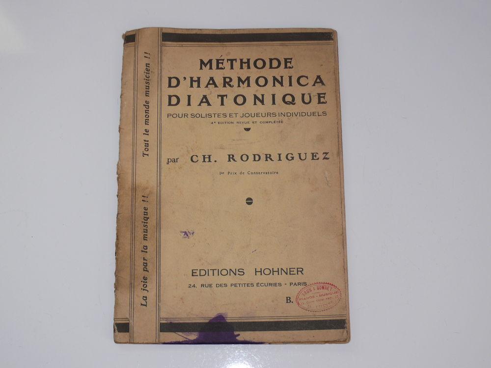 Méthode d'harmonica 10 Saintes (17)