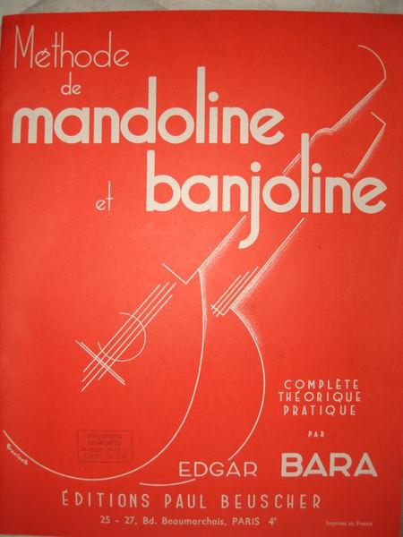 méthode mandoline et banjo Instruments de musique