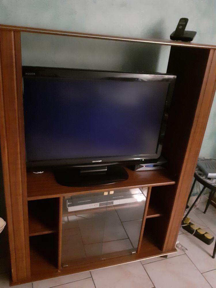 MEUBLE TV ACAJOU Meubles