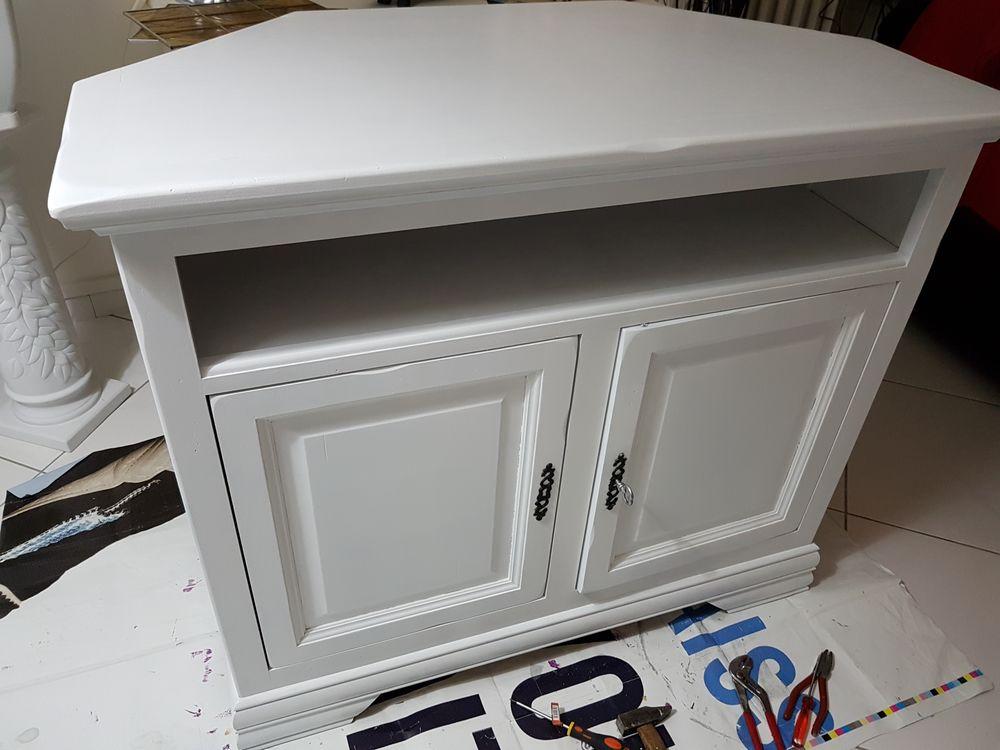 Achetez Meuble D Angle Blanc Occasion Annonce Vente A Montigny Les Metz 57 Wb159703728