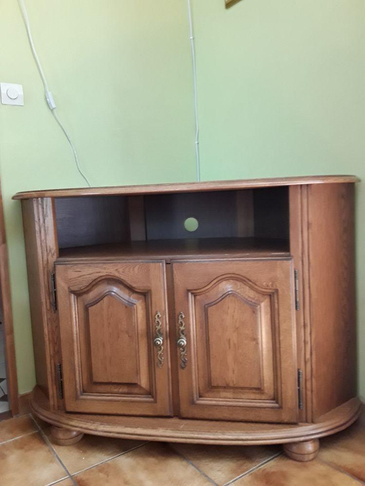 meuble TV  d'angle en bois 100 Nogent-sur-Seine (10)