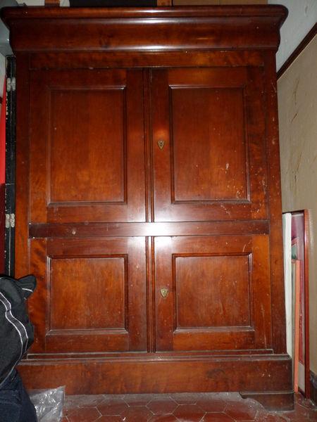 Bois Cerisier A Vendre : Achetez meuble armoire en occasion, annonce vente ? Beausoleil (06
