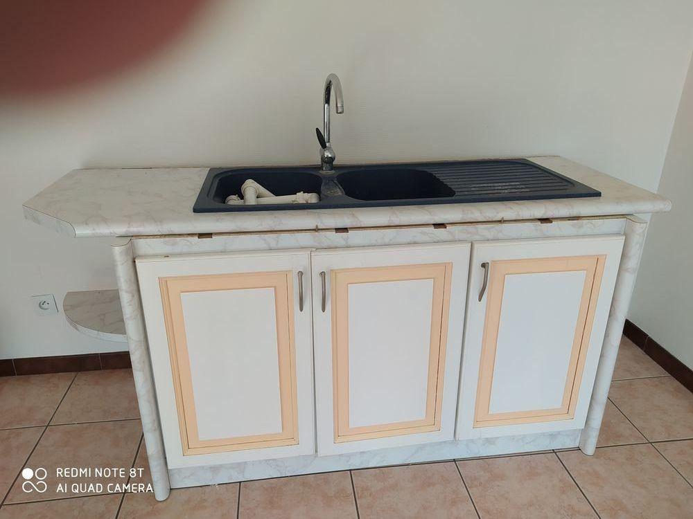 meuble avec évier. robinet  80 Saint-Vallier (71)