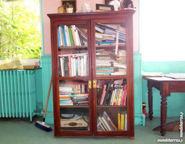 meuble bibliothèque en bois 4 niveaux de rangement 450 Monflanquin (47)