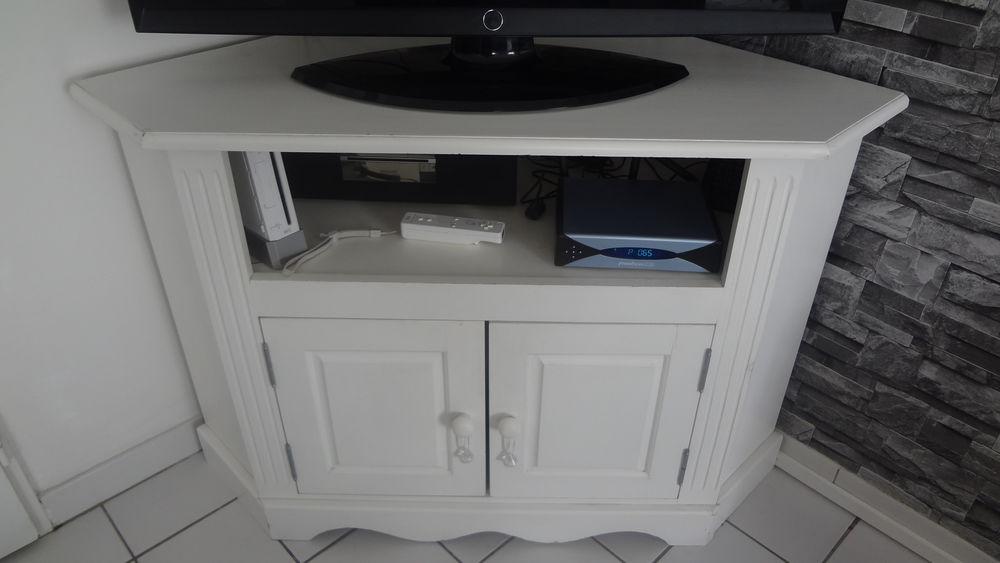 meuble bar Tv blanc d'angle 50 La Chapelle-d'Armentières (59)