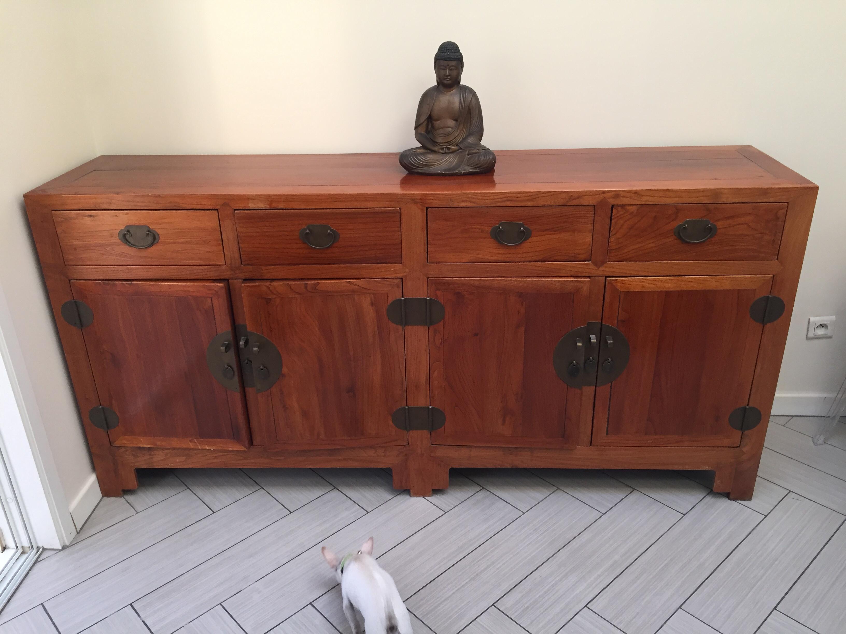 Achetez meuble bois occasion annonce vente paray for Meuble asiatique