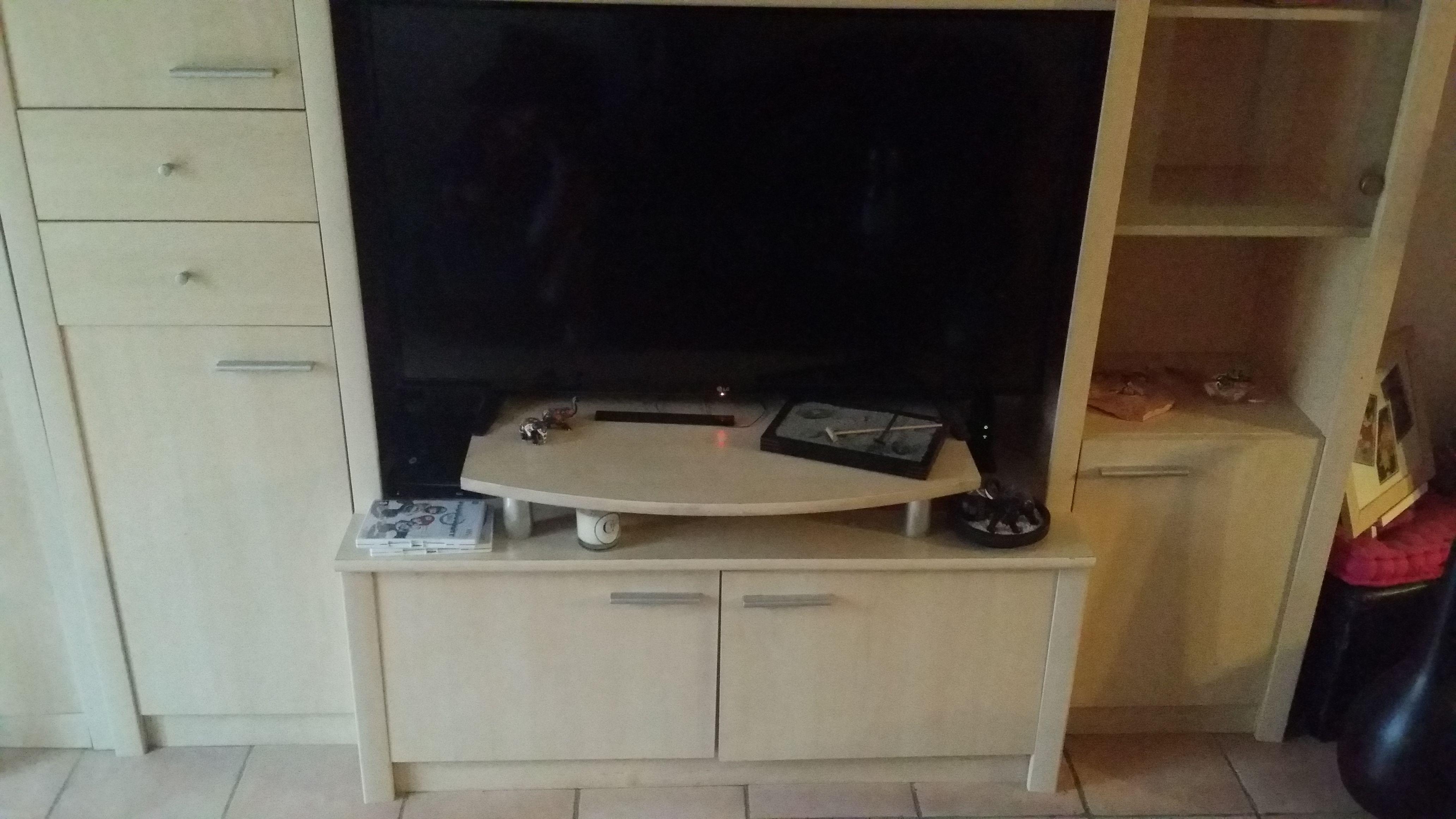 Meuble TV en bois clair 75 Noiseau (94)