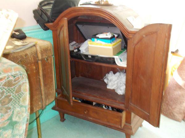 Achetez meuble en bois tv occasion annonce vente for Meuble tv ethnique