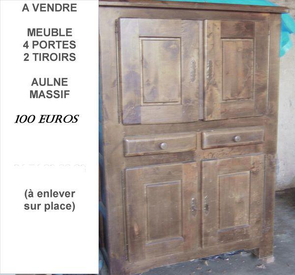 Achetez meuble bois massif occasion, annonce vente à  ~ Bois Aulne Massif