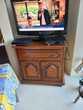 MEUBLE TV EN BOIS MASSIF Neuf Meubles