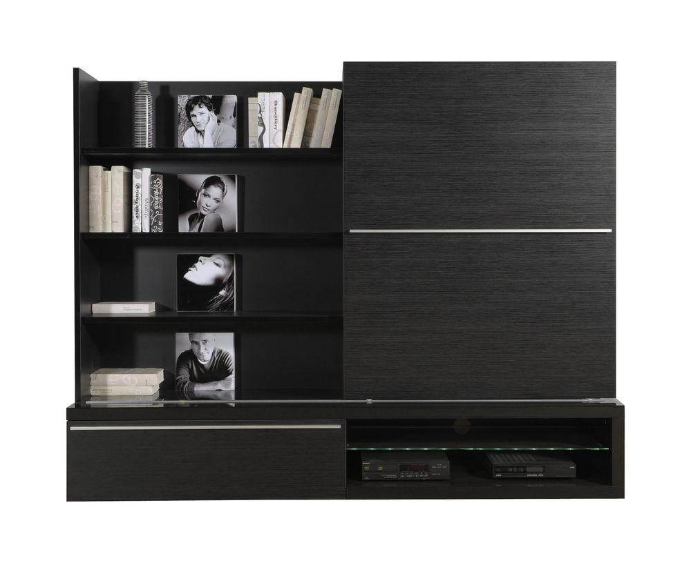 Achetez meuble tv en bois quasi neuf annonce vente paris 75 wb155180011 - Meuble tv bois noir mat ...